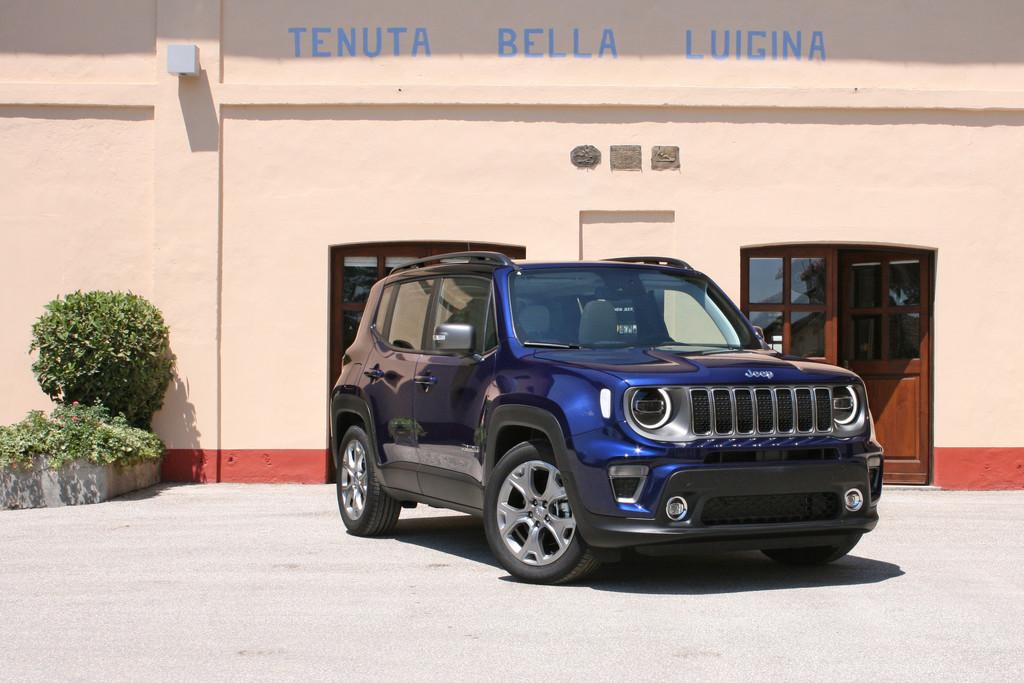 Jeep Renegade Autotest